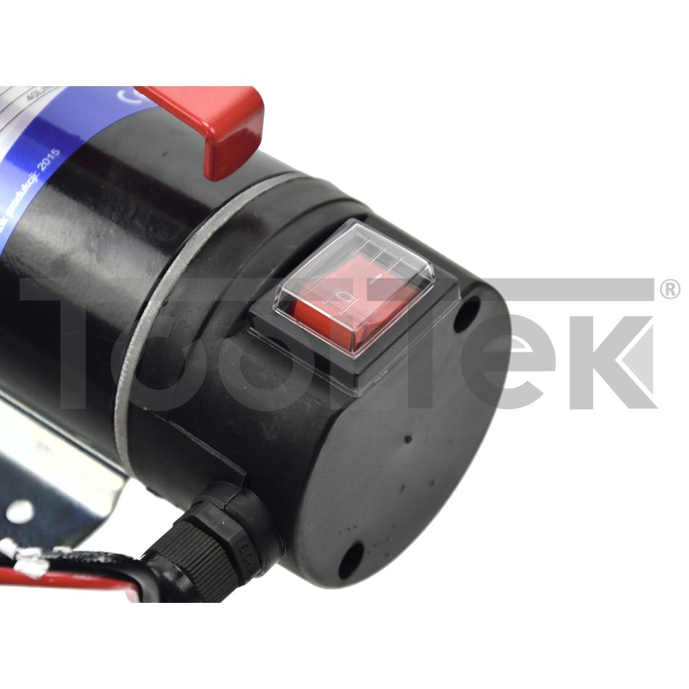 GEKO G01022 POMPA GASOLIO 12V TRAVASO DIESEL/LIQUIDI 40l/min PORTATILE TOOLTEK