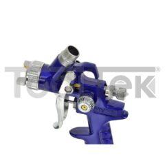 GEKO G01105  PISTOLA AEROGRAFO VERNICIATURA PROFESSIONALE 125ml 0,8mm TOOLTEK